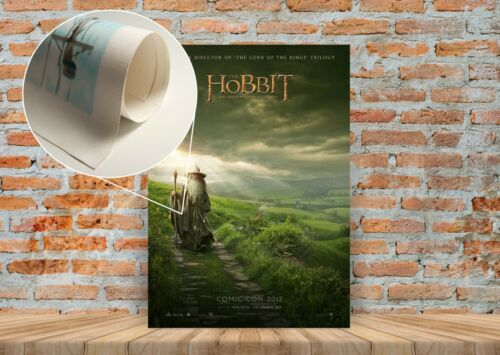 A3 A4 Sizes The Hobbit Movie Poster or Canvas Art Print