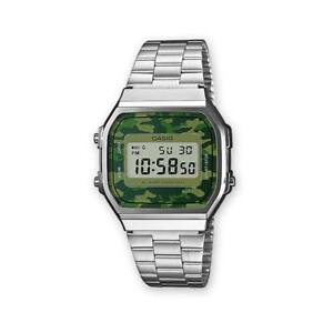 Orologio-CASIO-Acciaio-A-168WEC-3E-Mimetico-Camouflage-Uomo-Unisex-VINTAGE