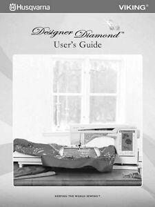 husqvarna viking designer diamond user owners manual ebay Viking Sewing Machine Repair Manual Viking 1 Plus Manual