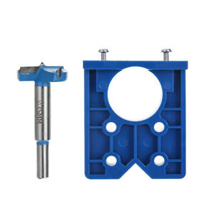 35mm Abs Concealed Hinge Hole Jig Home Kitchen Cabinet Door With Drill Bit Tools Ebay