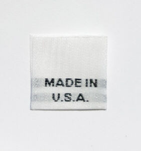 100-PCS-WHITE-WOVEN-SEWING-FOLDED-CLOTHING-CARE-LABEL-TAGS-MADE-IN-U-S-A