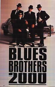 Movie Poster The Blues Brothers 2000 1998 Original Film Sheet John Goodman New 1 Ebay