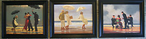 SET OF 3 Jack Vettriano Framed Canvas Effect 48cm x 39cm  Butler Picnic elegy - <span itemprop='availableAtOrFrom'>Sandown, United Kingdom</span> - Returns accepted within 7days for a refund, return postage is the customers responsibility. - <span itemprop='availableAtOrFrom'>Sandown, United Kingdom</span>