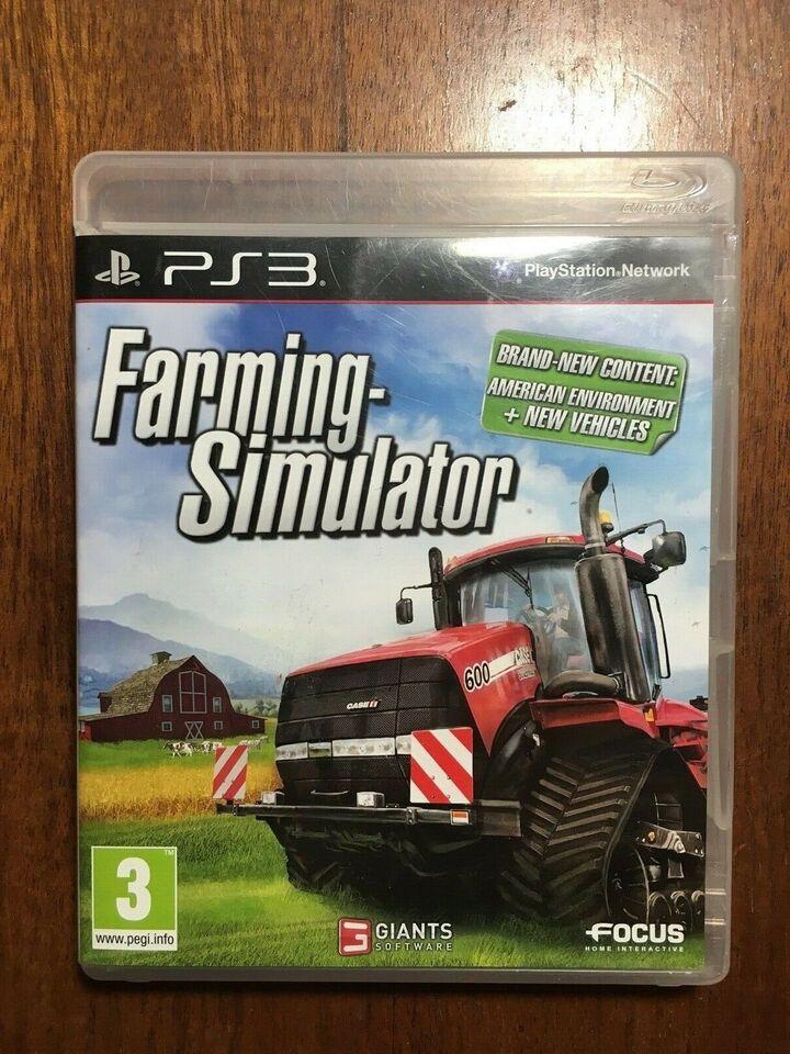 Farming Simulator, PS3, anden genre