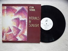 "LP JOHN WEIDER ""Intervals In Sunlight"" GOLD CASTLE 171 006-1 USA §"