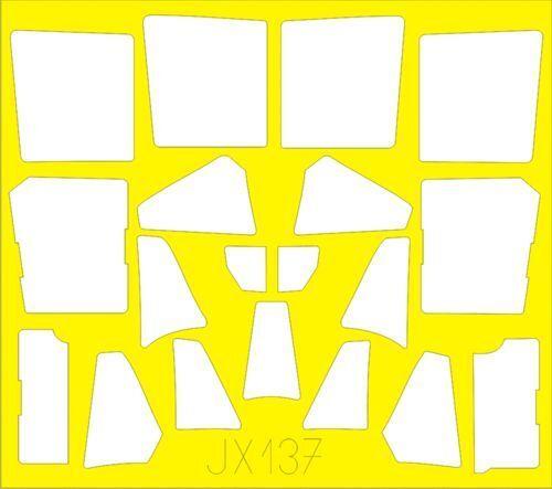 Eduard 1//32 Mitsubishi J2M3 Raiden Peinture Masque # JX137