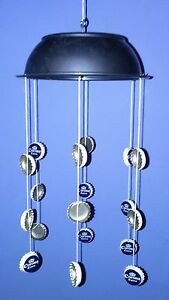 Beer Bottle Tops Caps Carillons Fantaisie Cadeau Homme Cave Corona Hang Mobile Drôle-afficher Le Titre D'origine