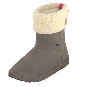 Gosch-Shoes-Sylt-Mujer-Botas-de-Goma-7118-602-32-Impermeable-Forrado-Marron