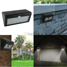 Waterproof 66 LED Solar Power PIR Motion Sensor Wall Light Outdoor Garden Lamp