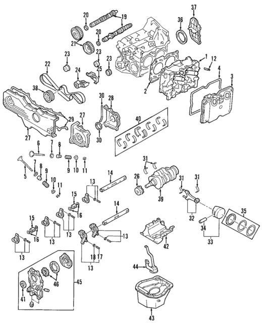 Subaru Timing Belt
