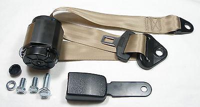 Punkt Sicherheitsgurt Mercedes W 116  New beige Seatbelt Beiger Automatik 3