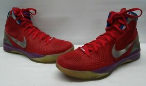 89aefb5d694 NIKE Zoom Hyperdunk Flywire Men Size 14 Basketball Shoes Blue Red ...