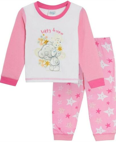 Baby Girls Tatty Teddy Pyjamas//Long-Sleeved PJs  18-24 months