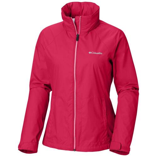 "New Womens Columbia /""Switchback II/"" Omni-Shield Lightweight Rain Wind Jacket"