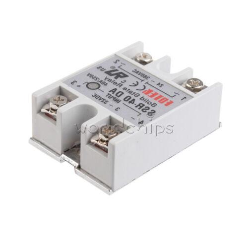 1/2/4/5/10PCS SSR-40DA 3-32 V Dc-ac 24V-380V 40 A Solid State Relay Para Arduino