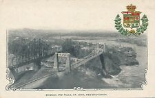 SAINT JOHN NB – Bridges and Falls – udb (pre 1908)
