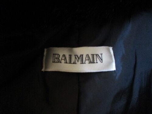Cappotto Balmain À 67 Taglia Nero 38 4FqWrxO4w