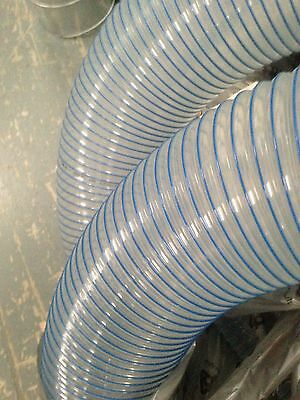 PU R BLUE Flexible Hose- Ventilation, Fume & Dust Extraction, Woodworking