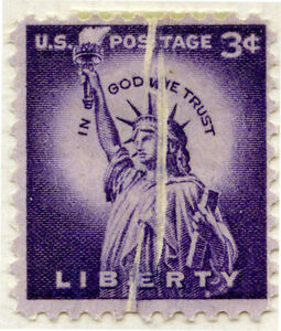 """Stamps Vertical Pre-print Paper Fold Error """"statue Of Liberty"""" Bn2181 Supplement The Vital Energy And Nourish Yin Hot Sale #1035 Var"""