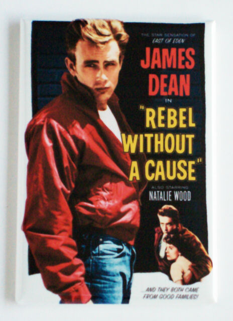 Rebel Without a Cause FRIDGE MAGNET (2 x 3 inches) movie poster james dean