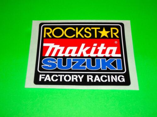 SUZUKI RM RMZ 80 85 100 125 250 450 MAKITA ROCKSTAR ENERGY MOTOCROSS STICKERS *#
