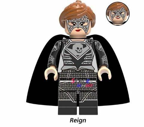 Lego DC Minifigures Blocks Justice League Batman Superman Joker Aquaman Robin