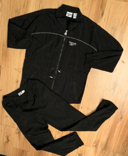 Vintage Reebok Windbreaker Jacket Pant Tracksuit C