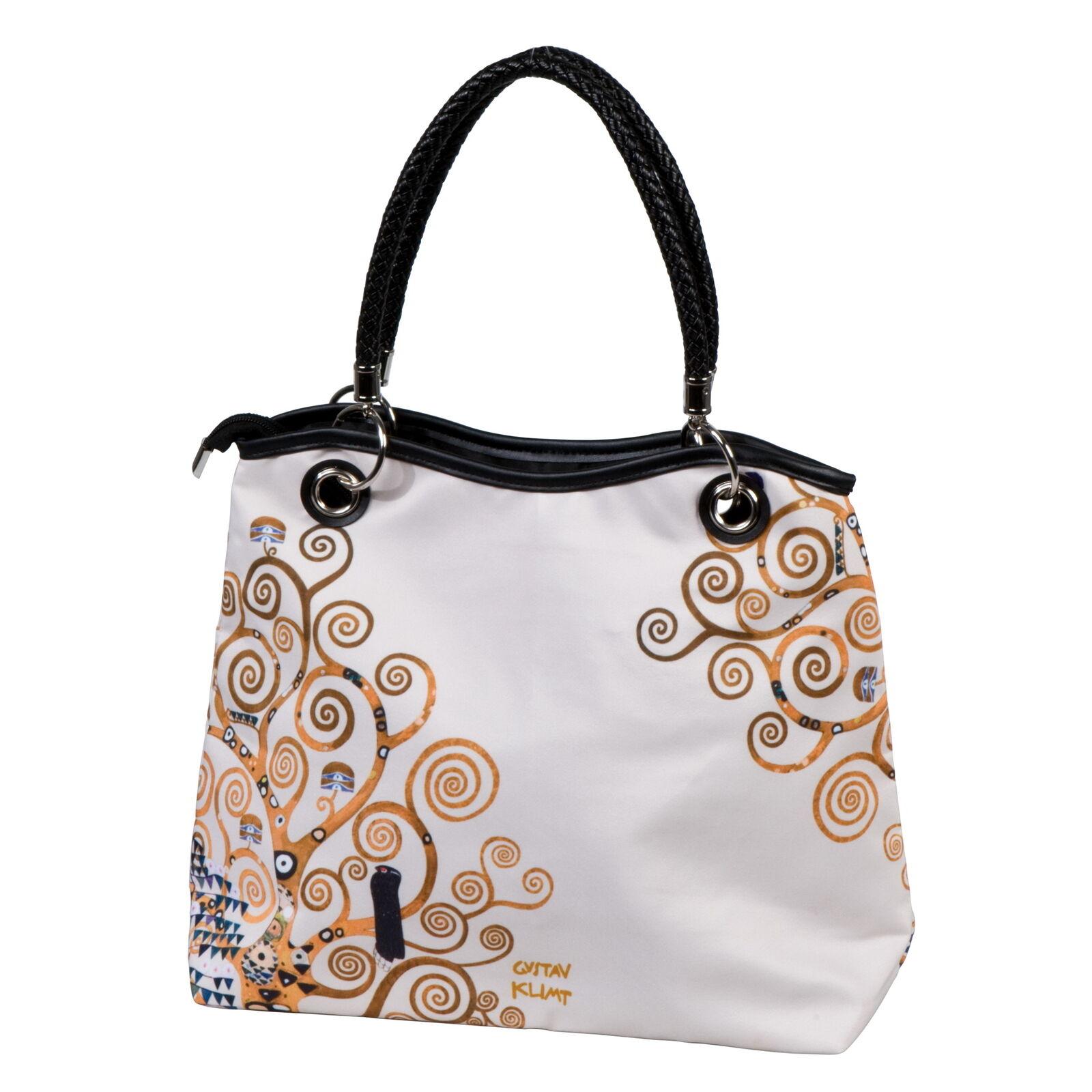 GOEBEL ARTIS ORBIS - Der Lebensbaum - Gustav Klimt Klimt Klimt Handtasche 33 x 31cm 67060221   Up-to-date Styling    Überlegene Qualität    Kaufen  fef7fb