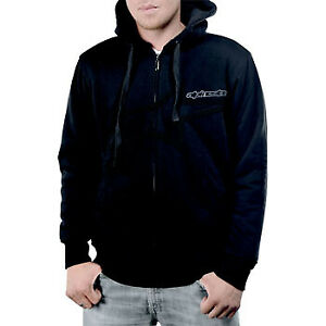 New-Alpinestars-Point-Dume-Hoody-Black-Large-L-Casual-Sweatshirt-Motorcycle