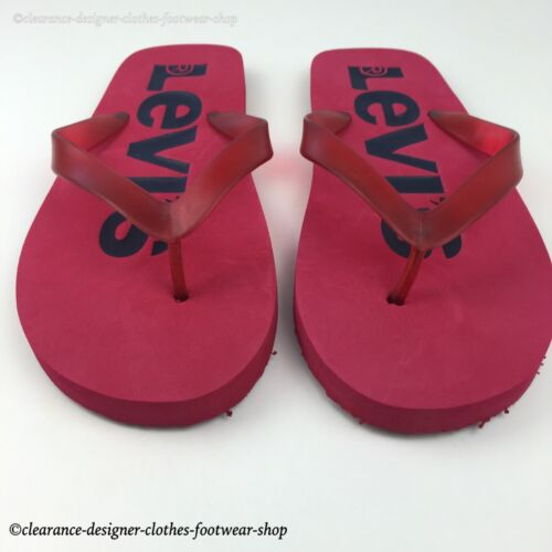 Sandales Levi's Plage Rrp Marine Sandale Sandale Tongs 35 Rouge Lévis Eté Mens £ OqZZT8