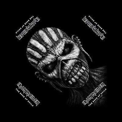 Iron Maiden The Book of Souls Official Black Bandana Rock Band Music Kerchief He