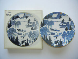 Arabia-Christmas-Plate-Christmas-Plate1979-With-Original-Box-Meine-Pos-14