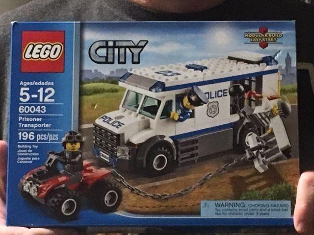 LEGO City Police 60043 Prisoner Prisoner Prisoner Transporter , New, Free Shipping f45c7e