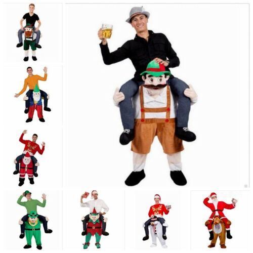 Piggy Back Fancy Dress Costume Shoulder Carry Ride On Outfit Men Women NEW HOT