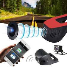 Dual Lens HD 1080P Hidden Wifi Car DVR Camera Video Recorder Dash Cam Phone APP