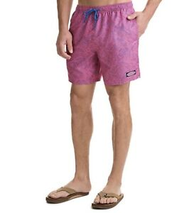VINEYARD-VINES-Linear-Tropics-Chappy-Swim-Trunks-Board-Shorts-89-MSRP-Sold-Out