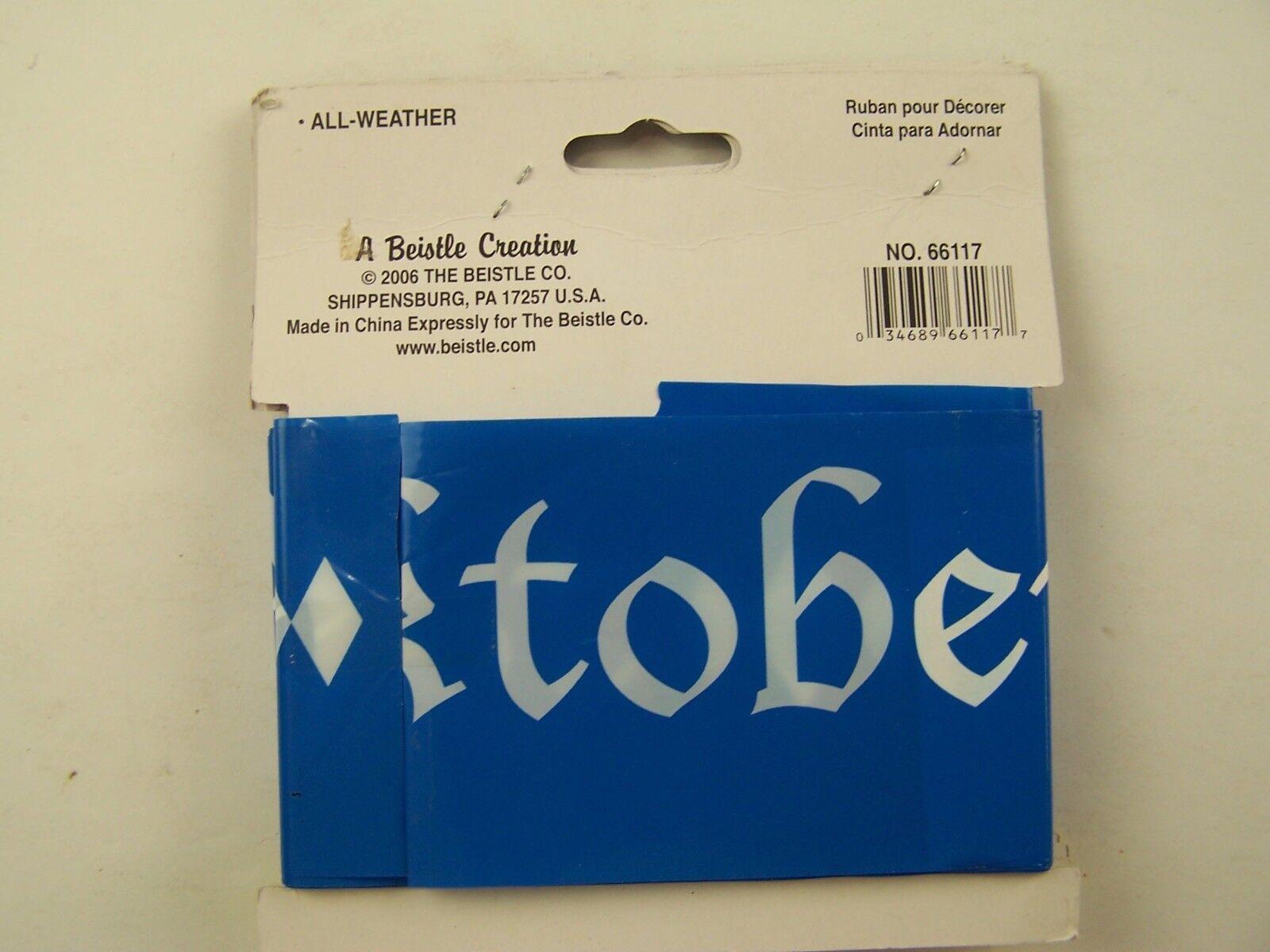 Oktoberfest Party Tape 20' New Package