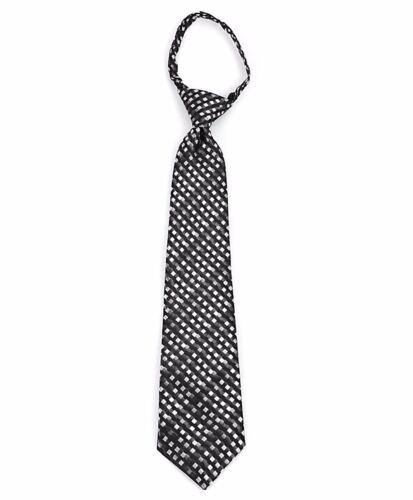 MPWZ14-03 Boys Patterned Formal Zipper Necktie