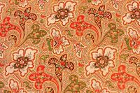 "Antique 19thC French Ethnic Provencal PaisleyPrint Quilting Fabric~3yds27""LX21""W"