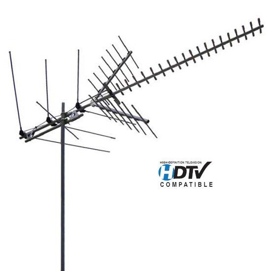 Best Hd Antenna 2020 Channel Master 2020 HDTV VHF High/UHF Antenna CM2020 41 Element