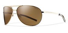 NEW Smith Serpico Sunglasses-Gold-Brown Lens-SAME DAY SHIPPING!