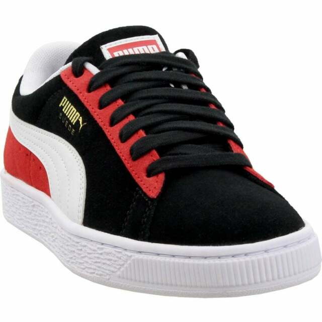 Puma Suede Classic Kokono Junior Sneakers Casual   Sneakers Black Boys - Size 5
