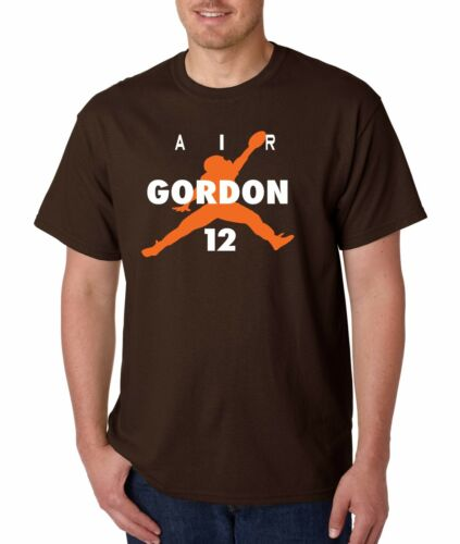"Josh Gordon Cleveland Browns /""Air Gordon/"" jersey T-shirt  S-5XL"