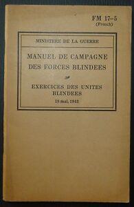 FM-17-5-Manuel-de-campagne-Exercices-des-unites-blindees-1943