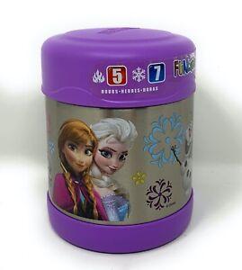 Disney-Frozen-Thermos-Funtainer-Anna-Elsa-Olaf-10-oz-Food-Jar-Purple-290m