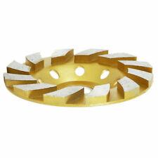 4 Inch 12 Diamond Segment Grinding Wheel Disc Grinder Cup Concrete Stone Cut