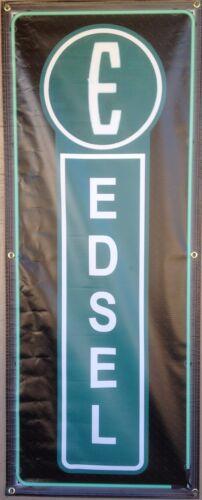 EDSEL CAR SALES AUTO DEALER STANDARD BANNER VINTAGE SIGN GARAGE ART 2/' X 5/'
