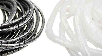 30 M Kabelspirale Kabelschlauch Spiralband Spiralschlauch Kabelschutz   923