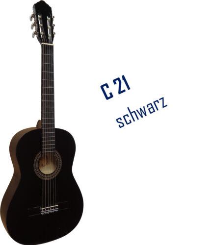 4//4 Gitarre Einsteiger Set Konzertgitarre mit praktischem Zubehör Tasche Band !