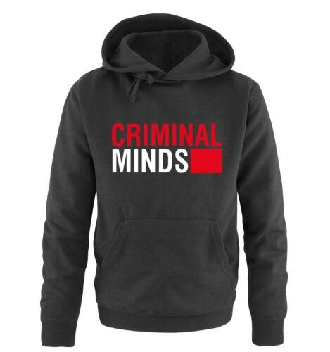 Farben S-XXL Versch Herren Hoodie CRIMINAL MINDS Comedy Shirts Gr
